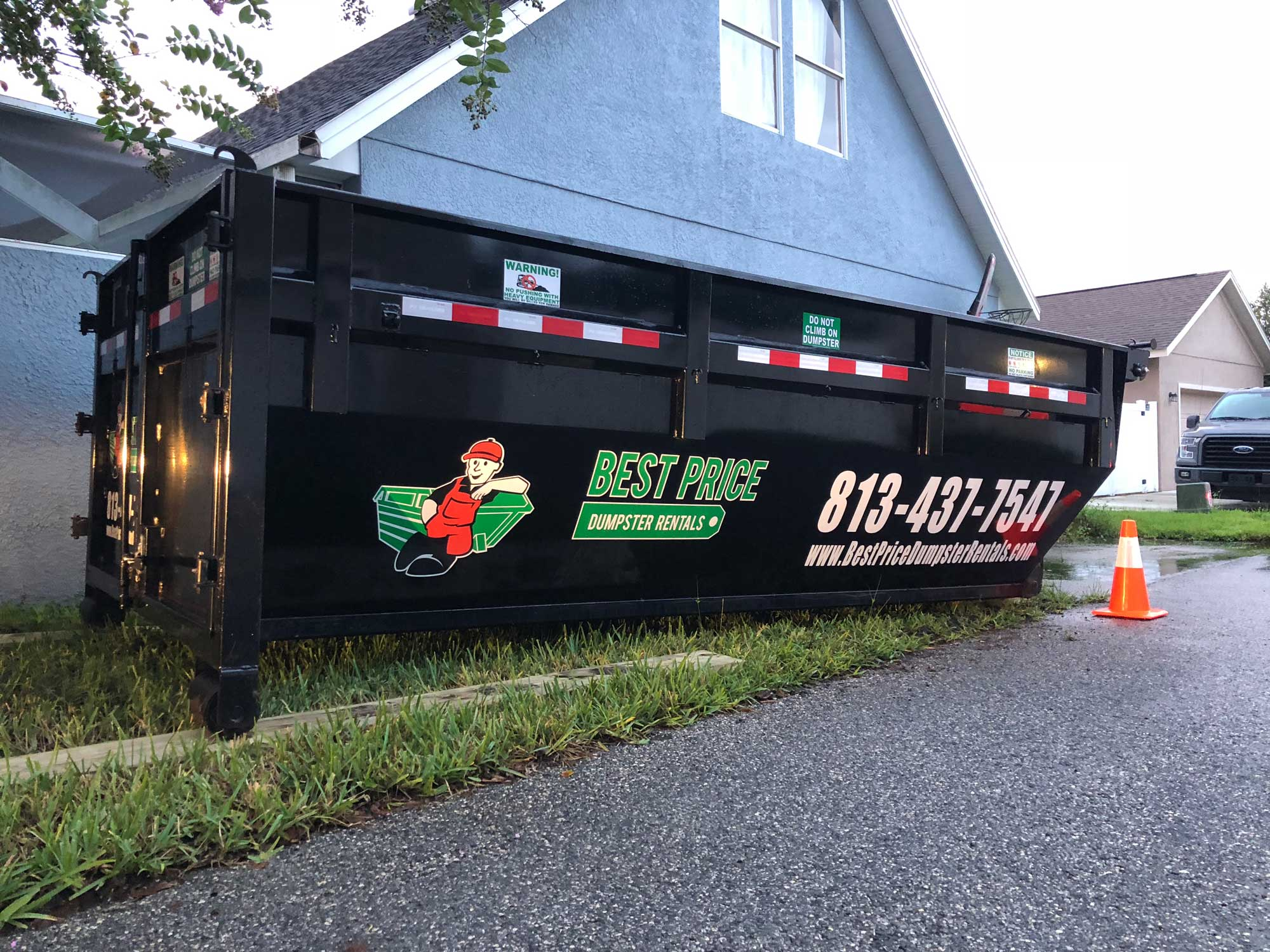 Dumpster for residential