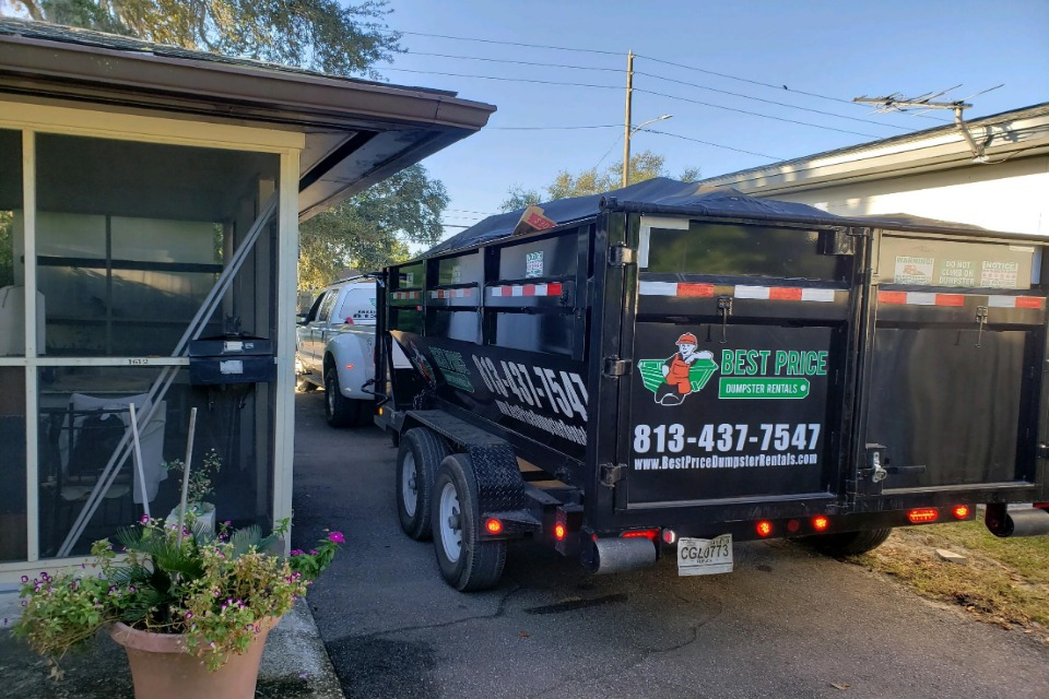 dumpster rentals  holiday florida