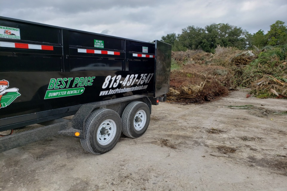 waste dumpster rental services