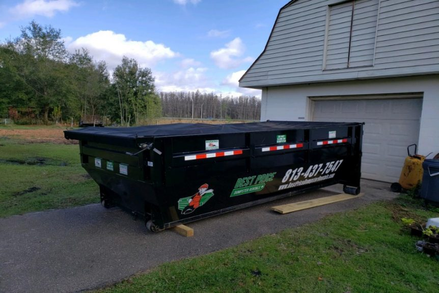 different size roll off dumpsters