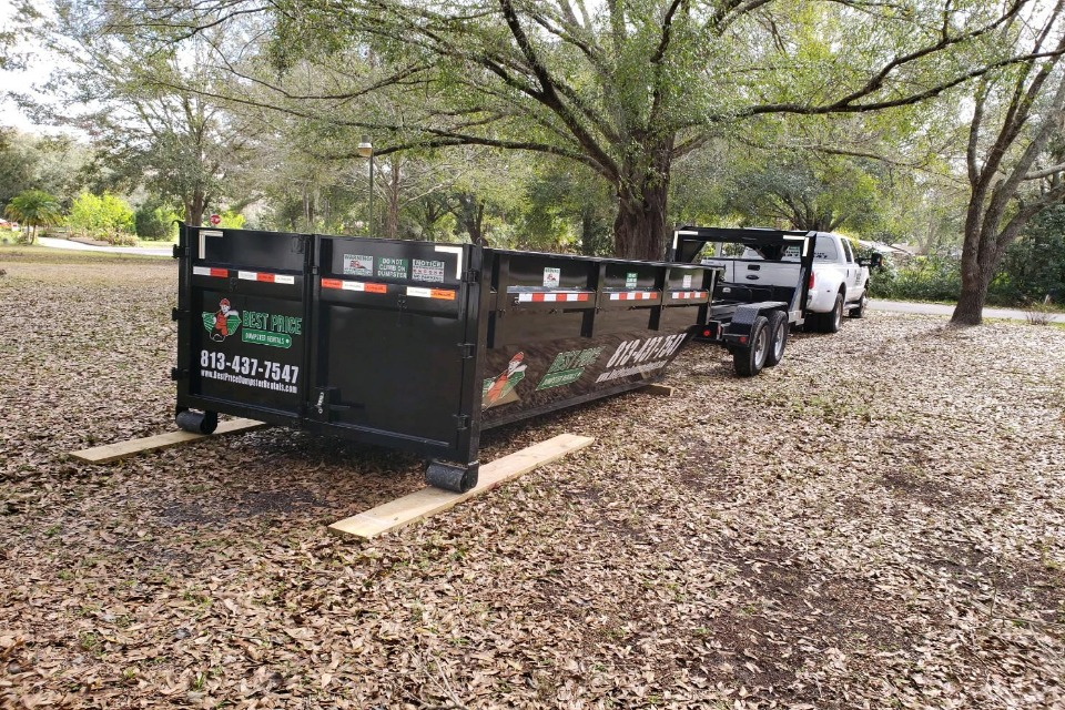 pasco florida dumpster rental