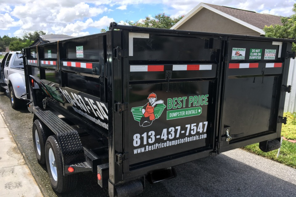 dumpster rental holiday