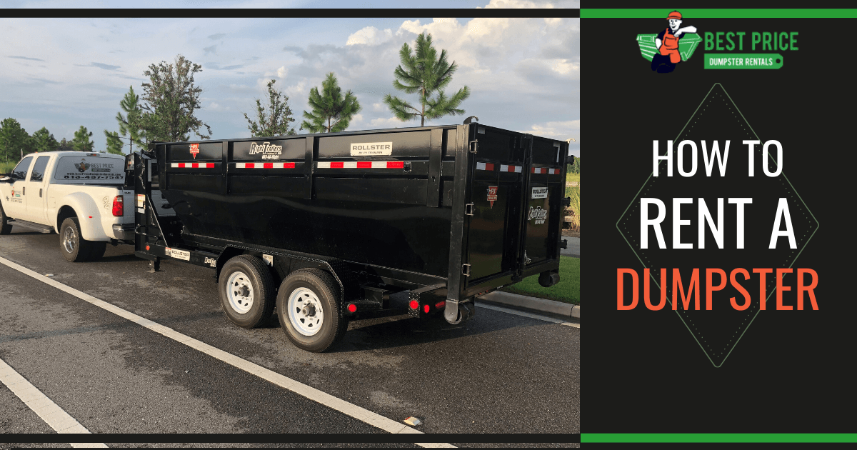 How To Rent a Dumpster