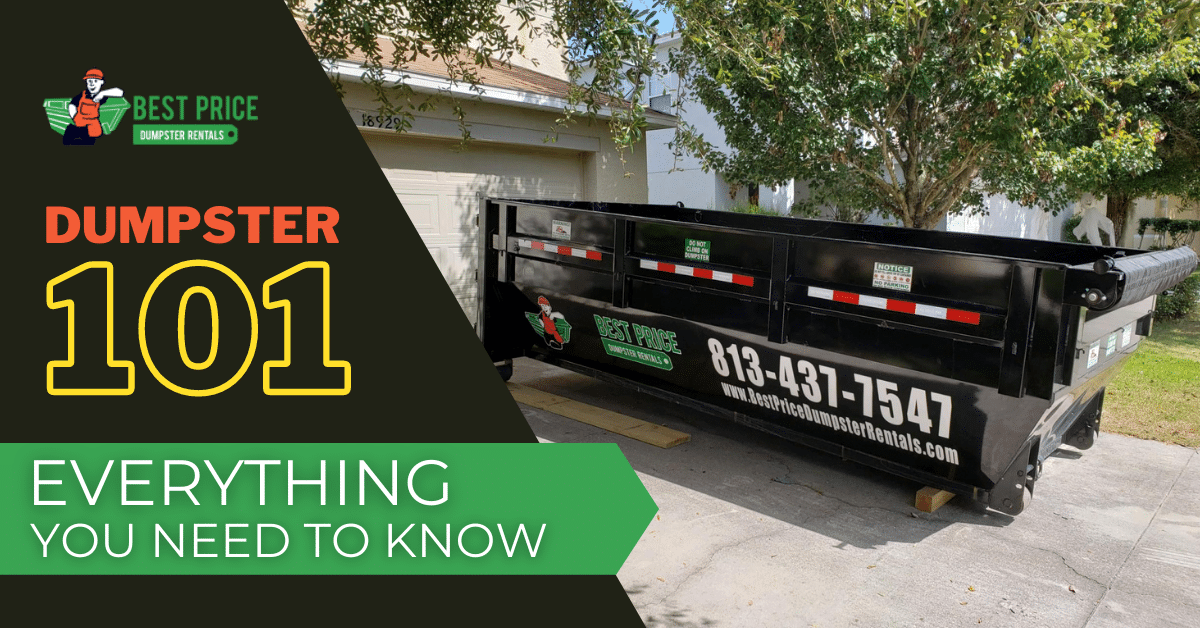 """Featured image for """"Dumpster 101: Cost, Rental Process, and Everything Else You Need to Know"""""""